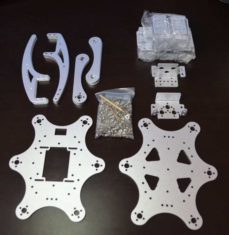 Hexapod Robot Chassis - parts