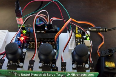 The Better Mousetrap Servo Tester