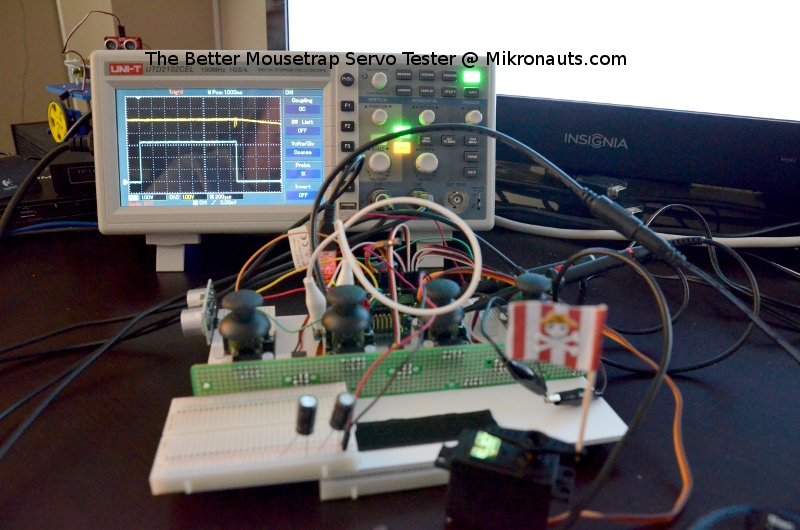 The Better Mousetrap Servo Tester @ Mikronauts.com