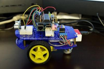 Elf RoboPi + Raspberry Pi Robot @Mikronauts http://Mikronauts.com/