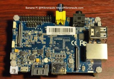 Banana Pi  @Mikronauts  http://Mikronauts.com
