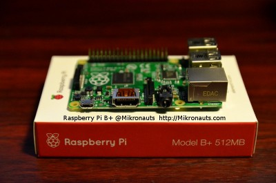 Raspberry Pi B+ @Mikronauts http://Mikronauts.com