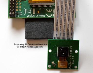 Raspberry Pi Camera @ http://Mikronauts.com