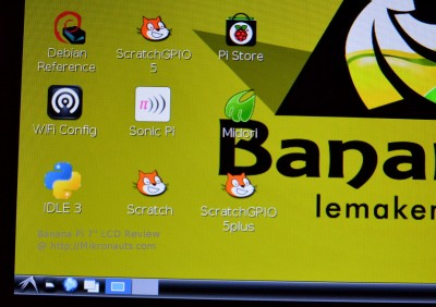 "Banana Pi 7"" LCD Review"