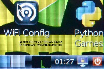 "Banana Pi 3.5"" LCD Review @ http://Mikronauts.com"