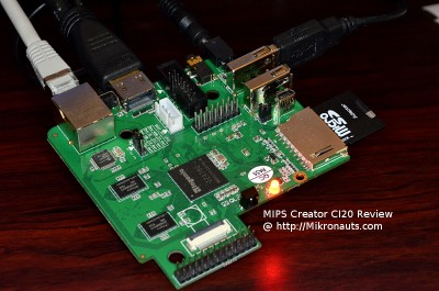 MIPS Creator CI20 Review @ http://Mikronauts.com