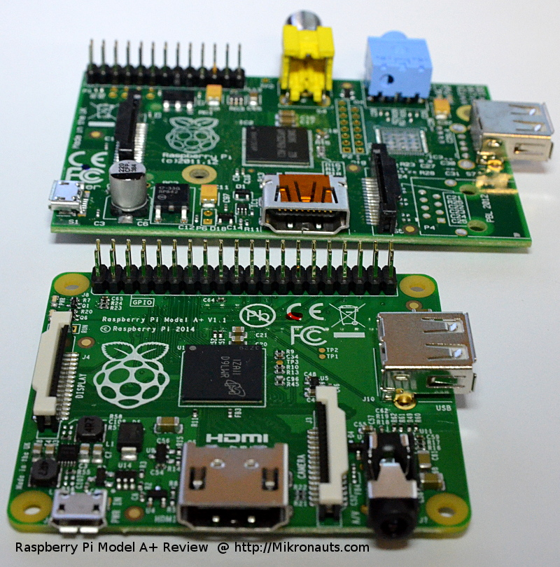 Raspberry Pi Model A+ Review   @ http://Mikronauts.com