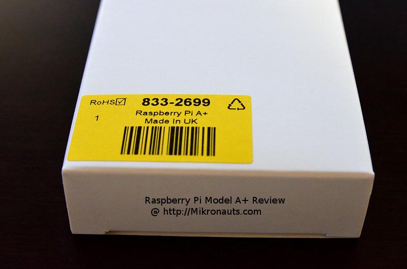 Mikronauts com » Raspberry Pi Model A+ Review