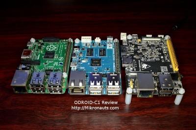 ODROID-C1 Review http://Mikronauts.com