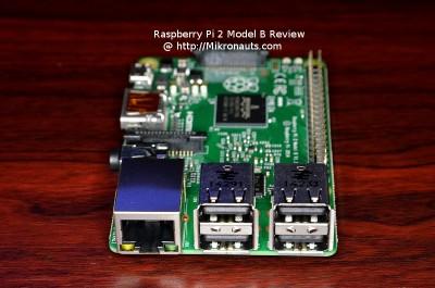 Raspberry Pi 2 Model B Review @ http://Mikronauts.com