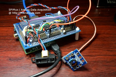 SPIMux / Analog Data Acquisition @ http://Mikronauts.com