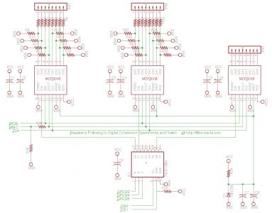 Raspberry Pi SPI Multiplexer @ http://Mikronauts.com