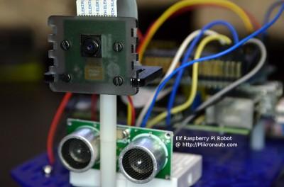 Elf Raspberry Pi Robot @ http://Mikronauts.com
