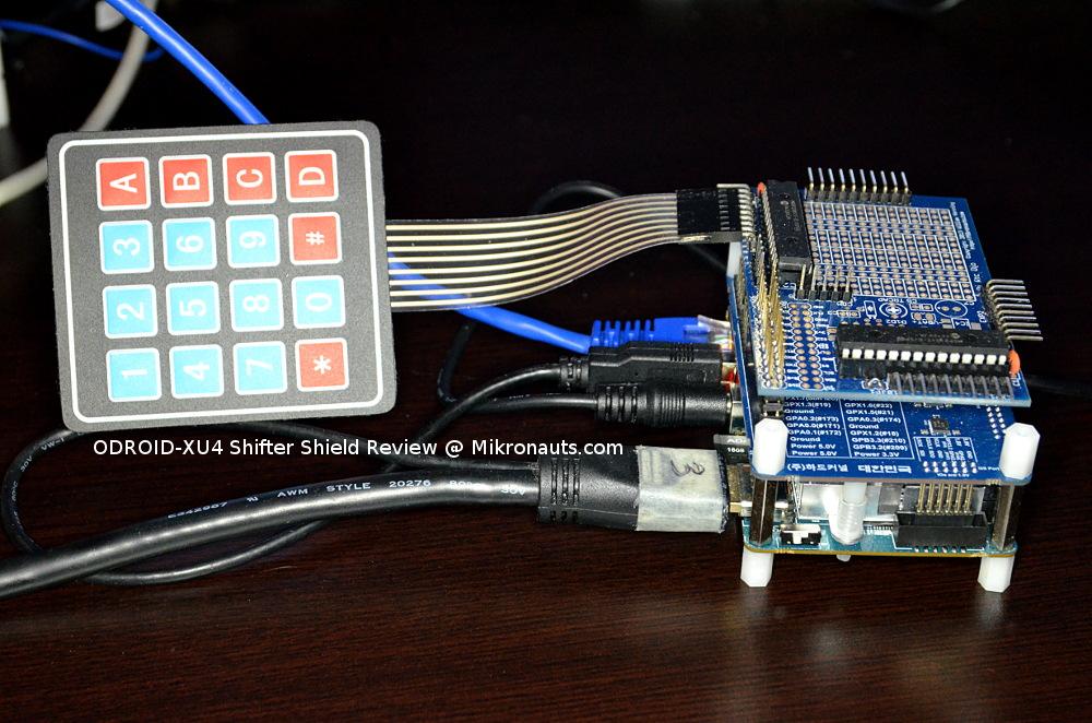 Mikronauts com » Hardkernel ODROID XU4 Shifter Shield Review