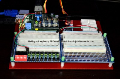 Making a Raspberry Pi Development Board @ Mikronauts.com