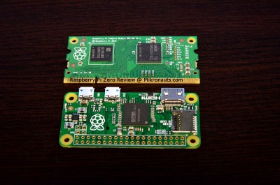 Raspberry Pi Zero Review @ Mikronauts.com