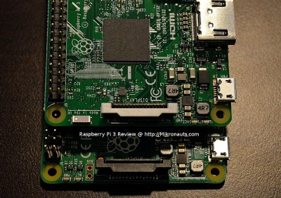 Raspberry Pi 3 Review @ http://Mikronauts.com