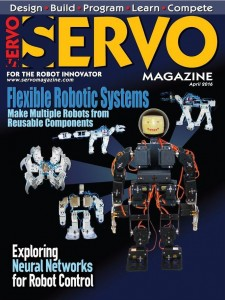 Servo April 2016 - Serving Raspberry Pi #4 - Sensors