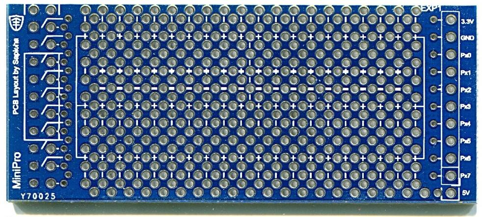 miniPro PCB top