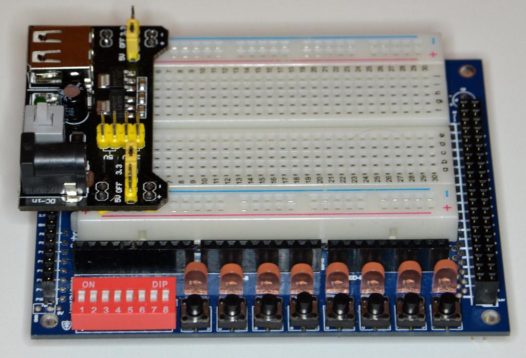 Solderless Breadboard Power Supply Module
